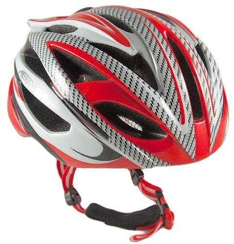Aerolite Men's AeroStream Bicycle Helmet - Red, Size 58-61