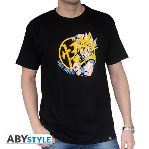 Camiseta-Dragon-Ball-Goku-Super-Saiyan-Xl