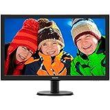"""Philips 273V5QHAB 27"""" Black Full HD - Monitor (68,58 cm (27""""), 12 ms, 300 cd / m², 4 W, Negro, 100%)"""