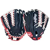 Rawlings Gold Glove Gamer XLE Glove (Navy Scarlet White) by Rawlings