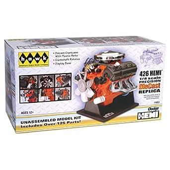 Hawk 1/4 scale 426 Dodge Street Hemi engine diecast model kit
