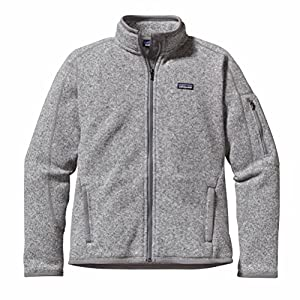 Patagonia Better Pull polaire Femme Birch White FR : L (Taille Fabricant : L)