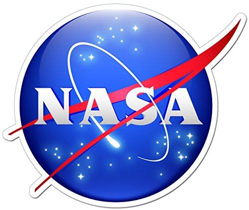 National Aeronautics e spazio amministrazione NASA adesivo, 11 x 9 cm/bombardamento di Euro ONEKOOL Decal JDM