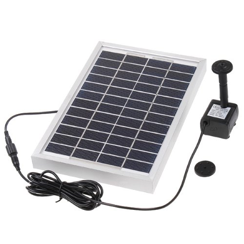Docooler Polycrystalline Silicon Solar Brushless Solar-Powered Water Pump Water Cycle/Pond Fountain