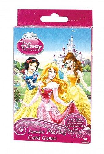 Disney Princess Jumbo Playing Cards - Oversized Kids Card Deck - 1