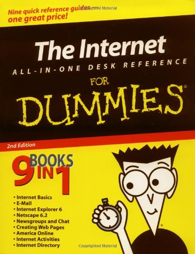 The Internet All-In-One Desk Reference For Dummies (For Dummies (Computers)) front-799311