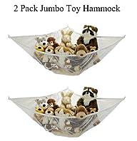 *2 Pack* Jumbo Toy Hammock Net Organi…