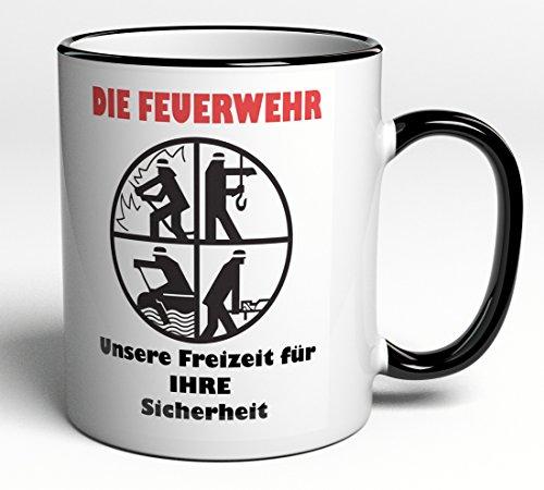 Tasse Feuerwehr - ideales Geschenk / Geschenkidee für jeden Feuerwehrmann