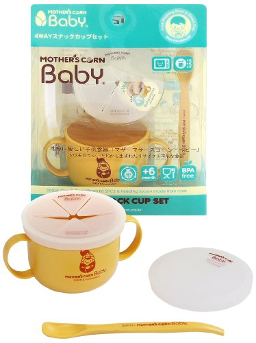 Eco My Friend Mother's Corn Baby 4 Way Snack Cup