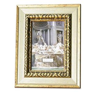 lawrence frames carved antique silver and gold 4x6 picture frame. Black Bedroom Furniture Sets. Home Design Ideas