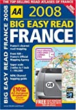 Big Easy Read France (AA Atlases)