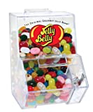 Jelly Belly Bean Mini Dispenser Bin With Scoop and 3.5oz Assorted Jelly Belly Beans