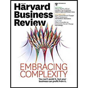Harvard Business Review, September 2011 | [Harvard Business Review]