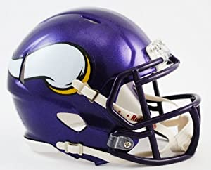 NFL Minnesota Vikings Revolution Speed Mini Helmet by Riddell