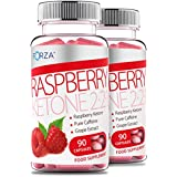 FORZA Raspberry Ketone 2:2:1 - High Strength Diet Pills with Pure Raspberry Ketone for Weight Loss - 180 Capsules