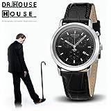 Kronsegler DR.HOUSE Damen Chronograph stahl-schwarz