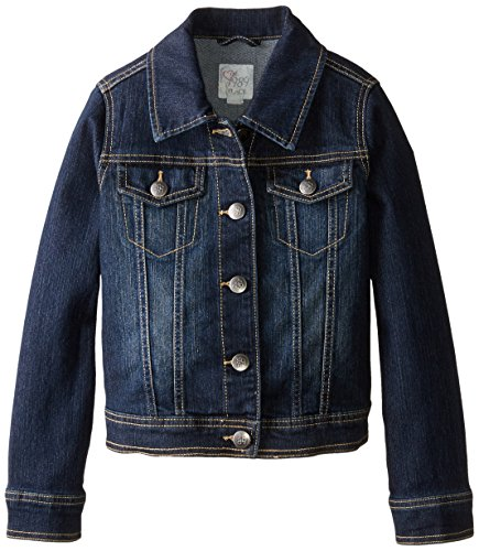 The Children's Place Big Girls' Denim Jacket, Odyssey, X-Large/14