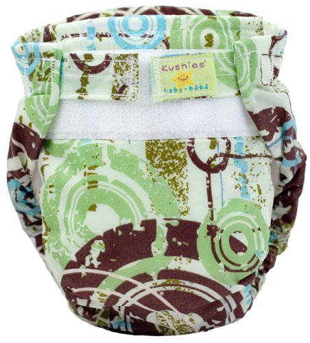 Kushies Reusable Ultra-lite Diaper for Toddlers, Colors May Vary