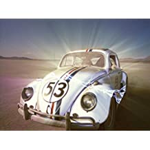 Posterhouzz Movie Herbie The Love Bug Herbie HD Wallpaper Background Fine Art Paper Print Poster