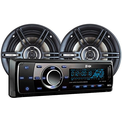 HF Audio Package Bluetooth Car Stereo Combo HF-120UB And 6