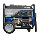 Westinghouse WH6500E Portable Generator, 6500 Running Watts/8000 Starting Watts