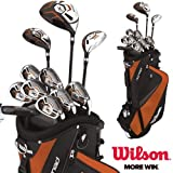 Wilson X31 MOI Golf Club Set Steel Shafted Irons Graphite Shafted Woods New & Improved For 2013