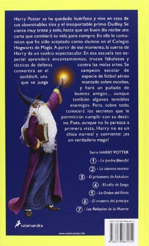 libro harry potter y la piedra filosofal harry potter