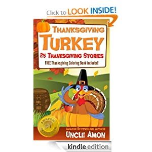 Thanksgiving Turkey (FREE Coloring Book Included!) 25 Thanksgiving Stories for Children