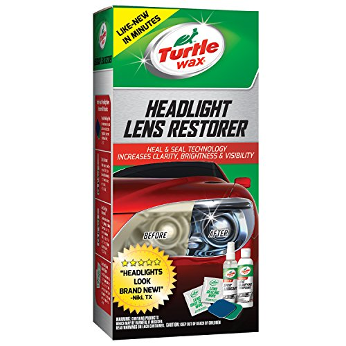 Turtle Wax T-240KT Headlight Lens Restorer Kit (Auto Lense Cleaner compare prices)