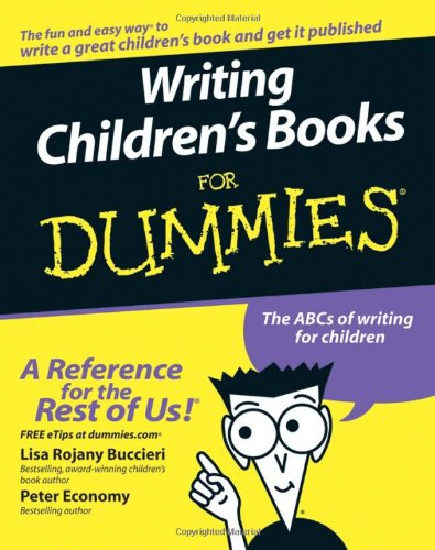 Writing Children'S Books For Dummies front-921527