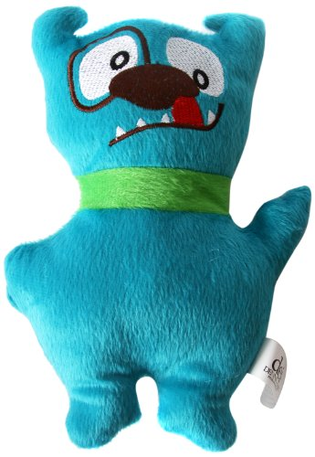 DEI Plush Ugly Dog Toy, Blue