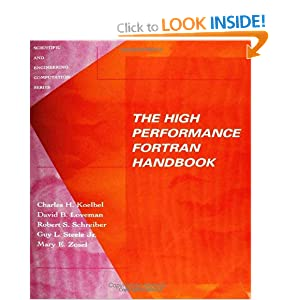 The High Performance Fortran Handbook (Scientific and Engineering Computation)