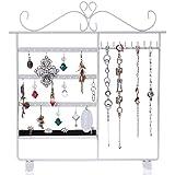 Présentoir/Porte bijoux bracelets colliers boucles blanc JDS053