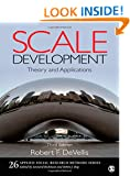 Scale Development: Theory and Applications (Applied Social Research Methods)