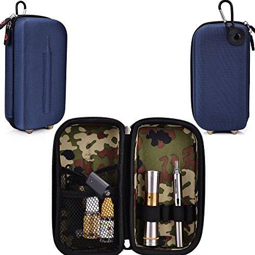 Travel Vape Case-Universal Design In A Navy Blue Compatible With Atmos Raw Jr Portable Vaporizer Vape Pen