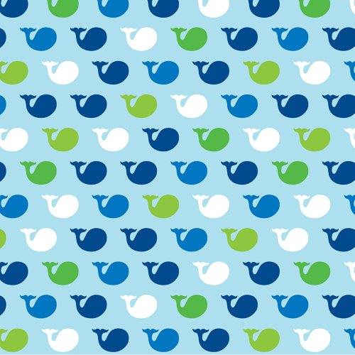 Creative Converting Ocean Preppy Boy Birthday Beverage Napkins, 16-Count