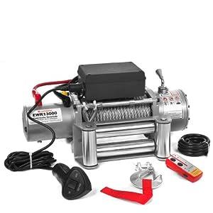 Rotfuchs® Elektrische Seilwinde EWR13000 12V 5909 KG inkl. Funkfernbedienung by Rotfuchs®