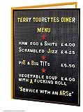Terry Tourettes Birthday Card
