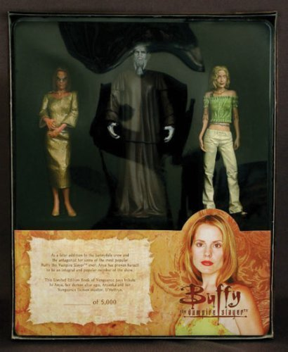 Buffy The Vampire Slayer Book Of Vengeance Action Figure Box Set