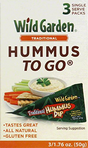 Wild Garden Hummus To Go Traditional - 3 CT (Single Serve Hummus compare prices)