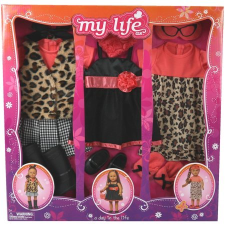 My Life As A Day in the Life Doll Clothing Set, Leopard (My Life Clothes compare prices)