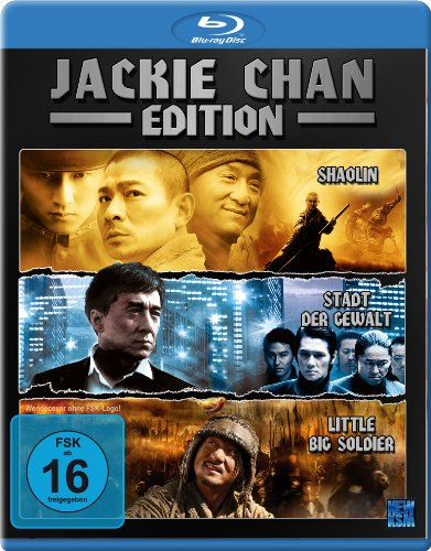 Jackie Chan Edition (Little Big Soldier / Shaolin / Stadt der Gewalt) [Blu-ray]