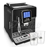 ☆ONE TOUCH☆ Kaffeevollautomat✔ 2 Thermogläser Gratis✔ CAFE BONITAS✔ NewStar Black✔ Touchscreen✔ Timer✔ 19 Bar✔ Kaffeeautomat✔ Latte Macchiato✔ Kaffee✔ Espresso✔ Cappuccino✔ heißes Wasser✔ Milchschaum✔