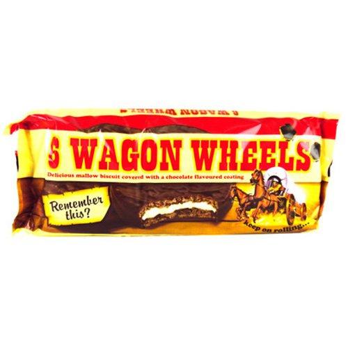 Burtons Wagon Wheels 6 Pack 200g