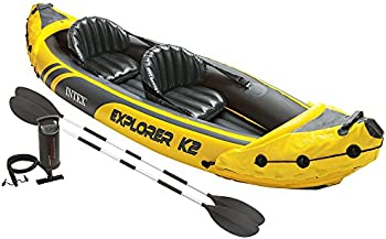 Intex Explorer K2 2-Person Inflatable Kayak Set