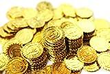 【SCGEHA】宝箱 アンティーク 風 海賊 パイレーツ 財宝 お宝 金貨 秘宝 ゴールド コイン 300枚 (金貨300枚)