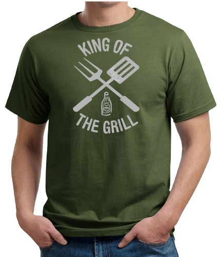 King Of The Grill Organic T-shirt Barbecue Utensils