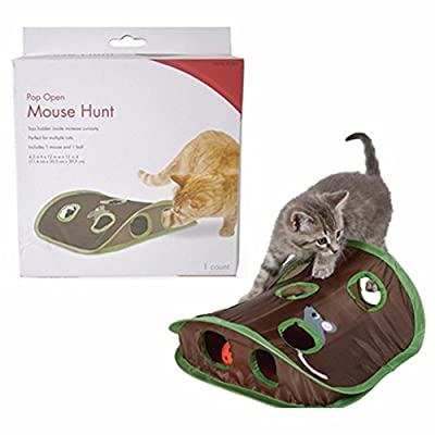 Mixse Pop Open Mouse Hunt Cat Toy