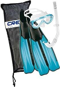 CRESSI Kinder Tauchset Rondinella Bag, aquamarine, 31/32, CA189231