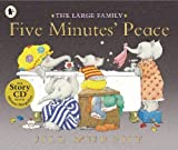 Jill Murphy Five Minutes' Peace (Large Family) with audio cd